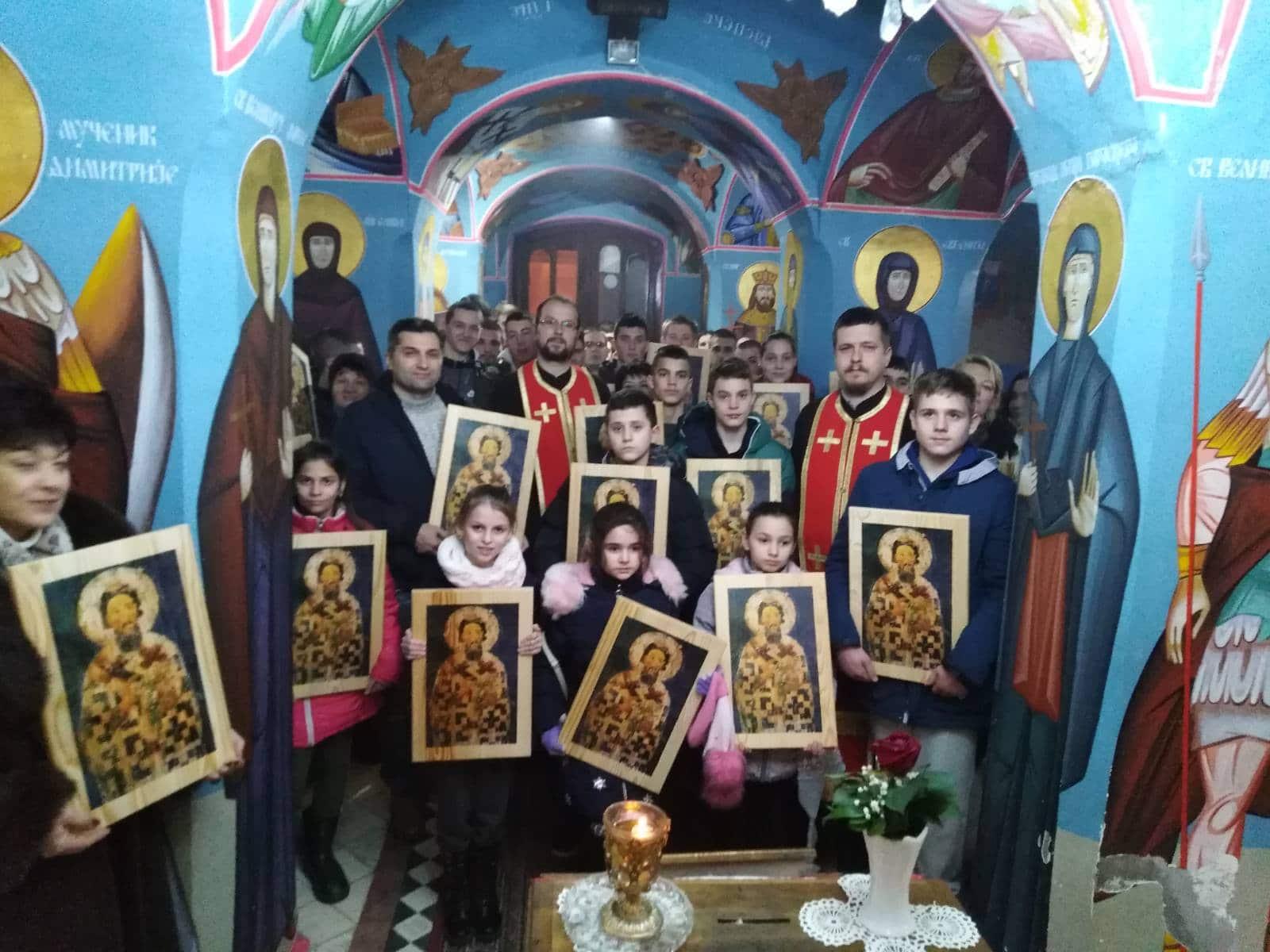 Освештање и додела икона Светог Саве на светосавским свечаностима  27.01.2020.