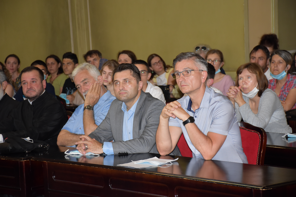 Председник Светосавља Драган Видаковић и председник У.О. Драган Ранисављевић