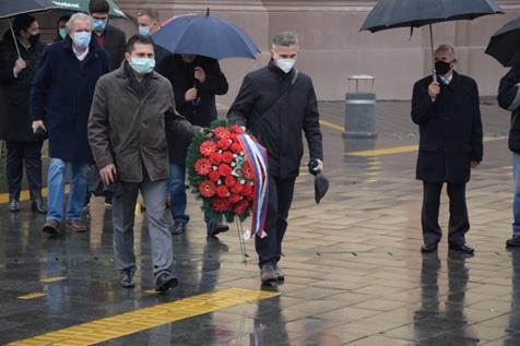 Обележавање Празника града 17.новембра 2020.године сто две године од ослобођења В.Бечкерека у Првом светском рату