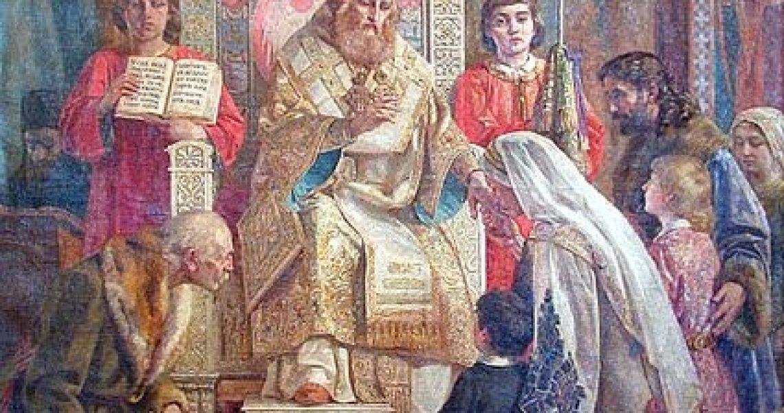 Светитељ Сава Српски благосиља Српчад